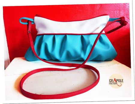 sac adelaide simili bleu blanc passepoil rouge1photo cra