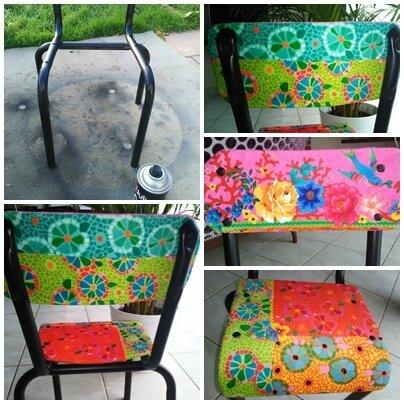 montage chaise école