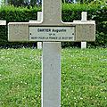 Dartier augustin (saint georges sur arnon) + 30/07/1917 vitry le françois (51)