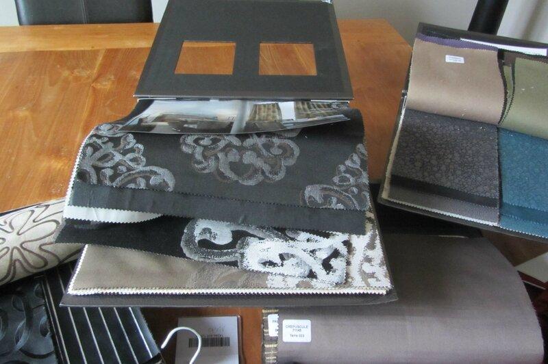 tissus Metaphores tapissier à Brest côté sièges