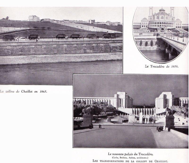 Histoire colline du Trocadéro