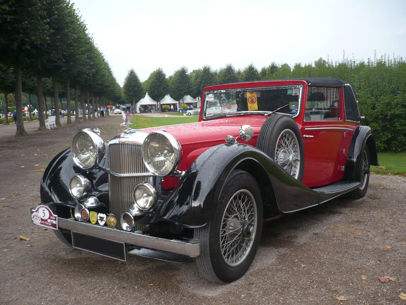 ALVIS Speed 25 Charlestworth drophead coupé 1937 Schwetzingen (1)