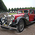 Alvis speed 25 charlesworth drophead coupé 1937