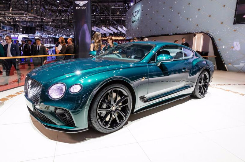Bentley-Continental GT Number 9 Edition by Mulliner-2019-GIMS-Geneva-0G3A2353 (1)