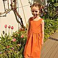 La robe iris - patron