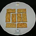 Mini-cakes courgette & cumin