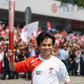 La flamme olympique à Fuzhou, porte de la route maritime de la Soie 3