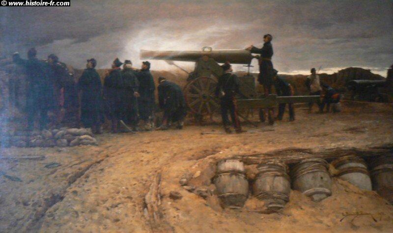 Berne-Bellecour, Un coup de canon 1872