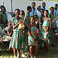 Le groupe de jeunes afrocolombiens de