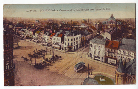 59 - TOURCOING - Panorama de la Grand' Place