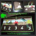 La pochette de voyage a dinosaure