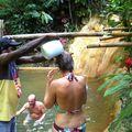 La Soufrière, source chaude