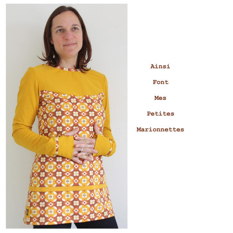 tunique fleurs moutarde (4)