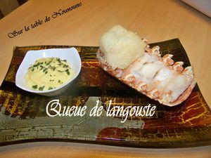 Queue de langouste