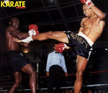 Sensei Aurelien battant (une nouvelle fois),son ami, le grand champion Orlando Wiet...