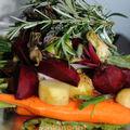 Papillote de légumes nouveaux