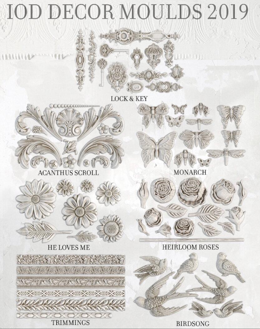 Nouvelle collection Iron Orchid Design (IOD) chez la petite chineuse de Dancourt