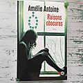 Raisons obscures, amélie antoine