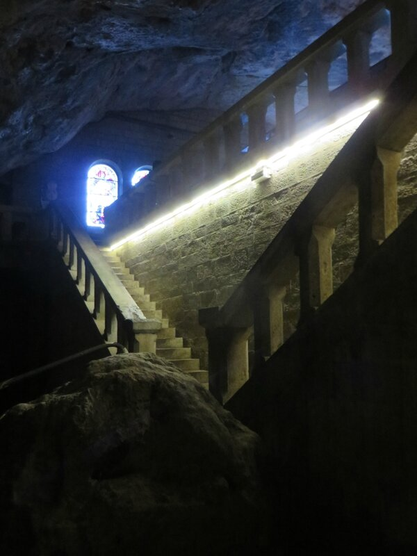 Crypte de la grotte basse - Grotte de Sainte Baume