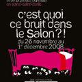 Salon du livre de montreuil 2008