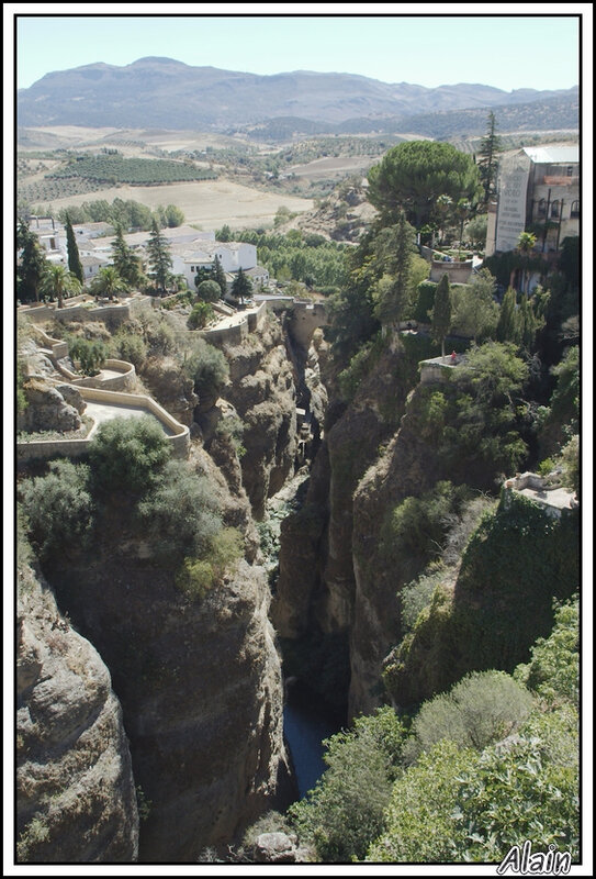 Ronda et son canyon
