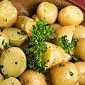 Pommes de terre vigneronne au persil