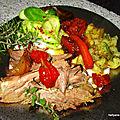 Recette facile du gigot d'agneau à la cuillère (cuisson sachet au four )