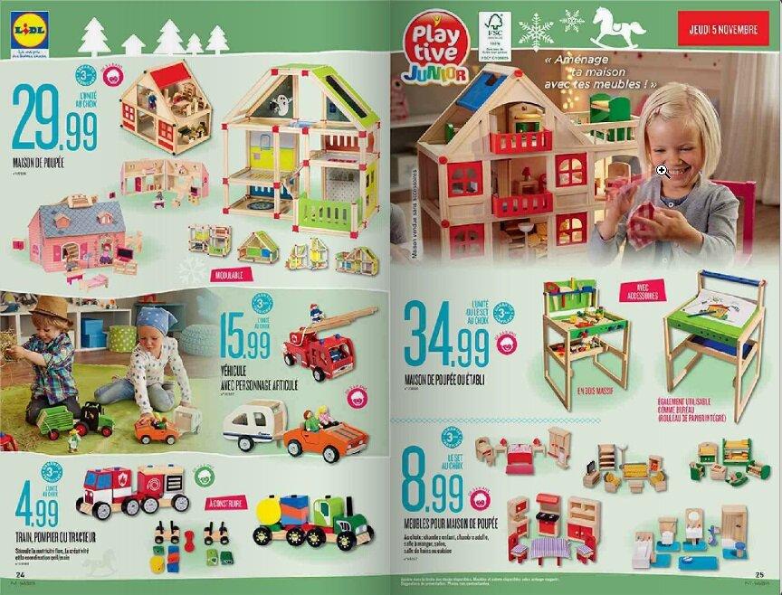 catalogue jouet noel 2018 lidl La hotte du Père Noël chez Lidl : le catalogue de jouets en bois  catalogue jouet noel 2018 lidl