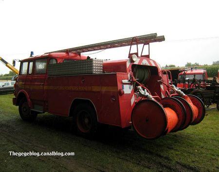 Berliet type GAK17 sapeurs pompier de 1963 (5ème Fête Autorétro étang d' Ohnenheim) 02