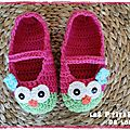 chaussons chouettes