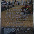 Pinault désiré (déols) + 30/10/1914 drie grotchen (belgique)