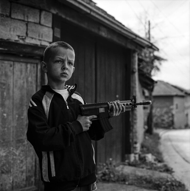 Boy with gun - Velika Hoca-2