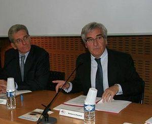 Mont-Saint-Michel préfet Adolphe Colrar Loïc Houssard CCI Centre et sud Manche