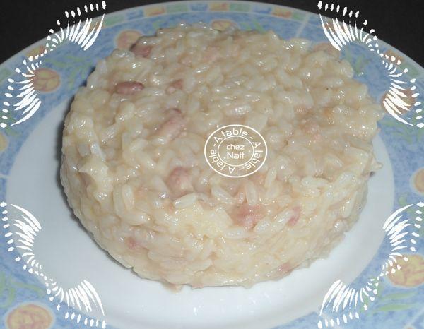 risotto aux lardons
