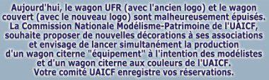 Citerne UAICF commande