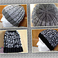 Tutoriel pour tricoter le bonnet