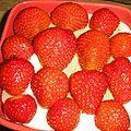 Douceur mascarpone et fraises