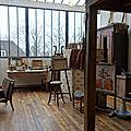 L' atelier de suzanne valadon