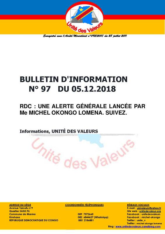 BULLETIN DINFO