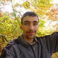 2009 10 31 cyril à 12 mètres de haut dans un Fayard