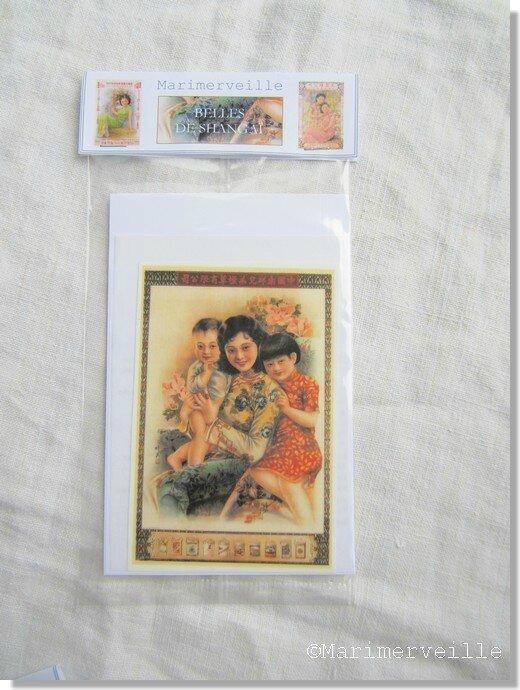 Marimerveille pochette transfert Belle de Shangai 2