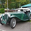 MG TC Midget roadster 1949 Créhange (1)