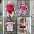 modèles poupées