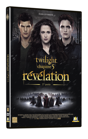 DVD Amaray Twilight 5