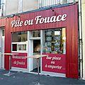Pile ou fouace angers maine-et-loire restaurant