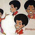 The jackson 5ive cartoon
