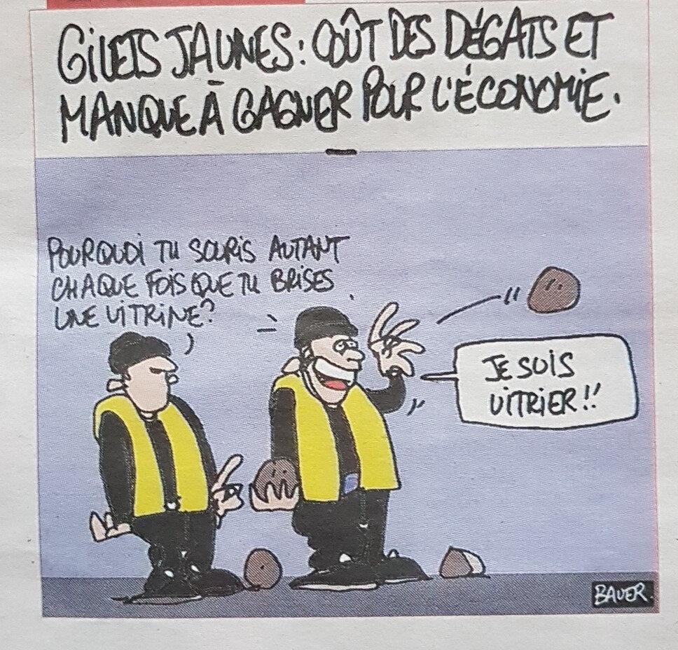macron humour gilet jaune les putes en marches
