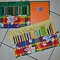 Duo trousse à crayons