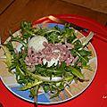 Pissenlit en salade