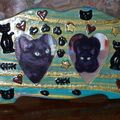 Un cadre chat pour le chat chéri